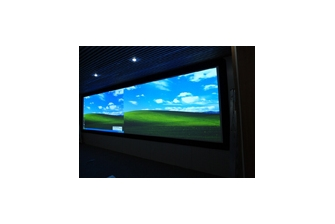 COMTEVISION Completed The Project Of Customized 9Mx3M Fixed Frame Screens